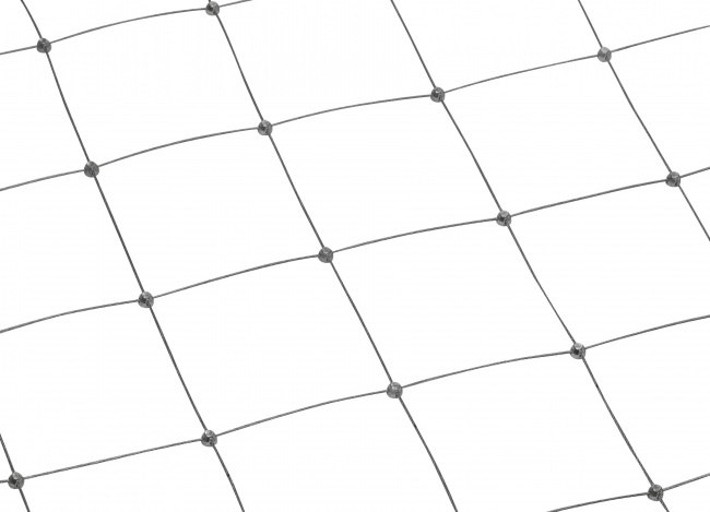 Stainless Steel Wire Net by the m² (1.5 mm/100 mm)