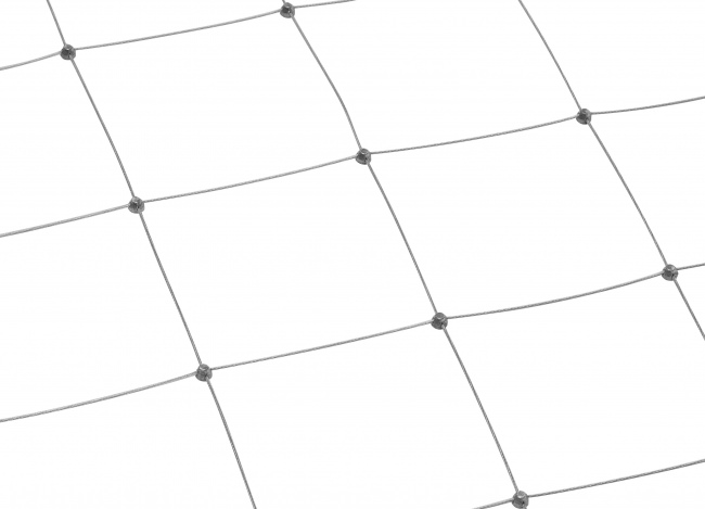Stainless Steel Rope Mesh by the m² (1.5 mm/150 mm)