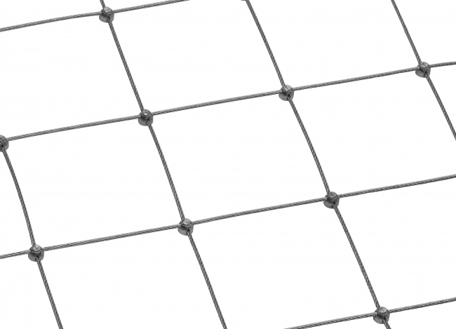 Tailor-made Stainless Steel Netting (2.5 mm/100 mm)