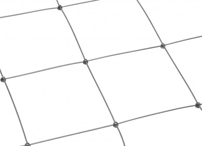 Schutznetz aus Edelstahl (2,5 mm/200 mm) | schutznetze24.de
