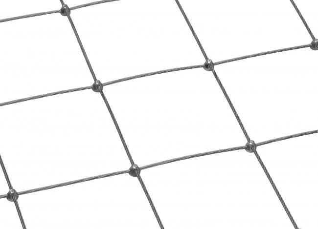 Maßgefertigtes Drahtnetz aus Edelstahl (5,0 mm/150 mm)
