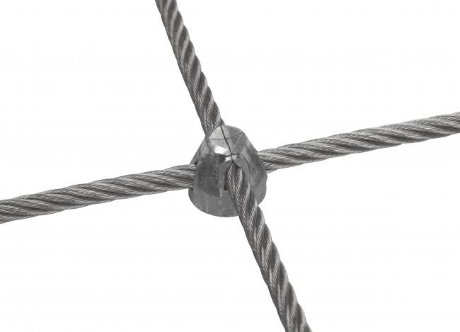 Stahldrahtnetz Edelstahl (6,0 mm/50/300 mm)