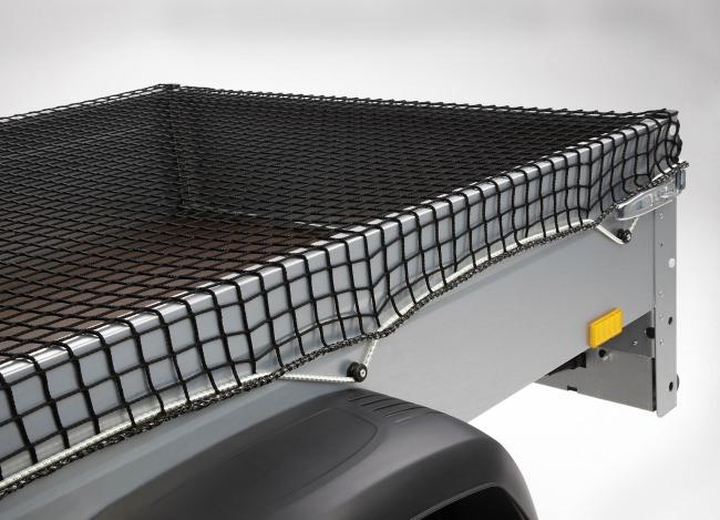 Anhänger-Abdecknetz 3,00 x 3,50 m (DEKRA), schwarz   Schutznetze24