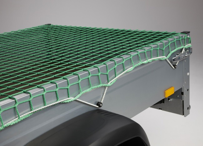 Anhängernetz mit DEKRA-Zertifikat - 2,50 x 2,70 m   Schutznetze24