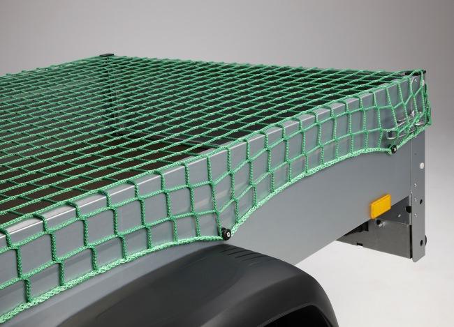 Trailer Net measuring 3.00 x 3.50 m (DEKRA), Green | Safetynet365
