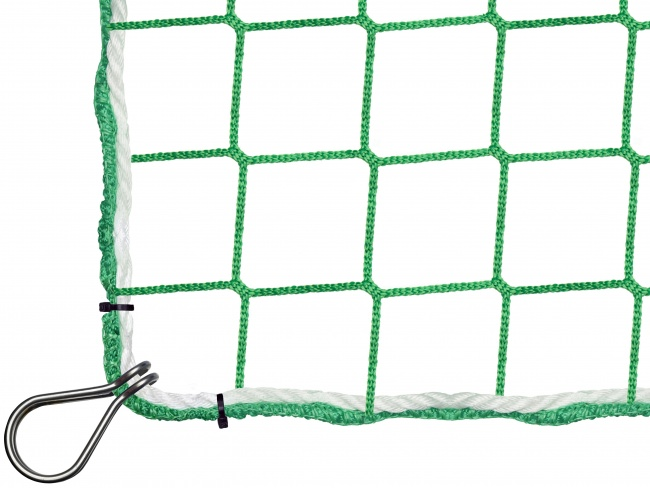 Construction Safety Net 5.00 x 10.00 m with Thimble Hooks | Safetynet365