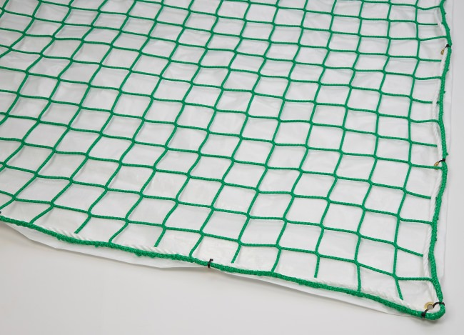 Fall Safety Net with Airtight Tarpaulin 10 x 12 m | Safetynet365