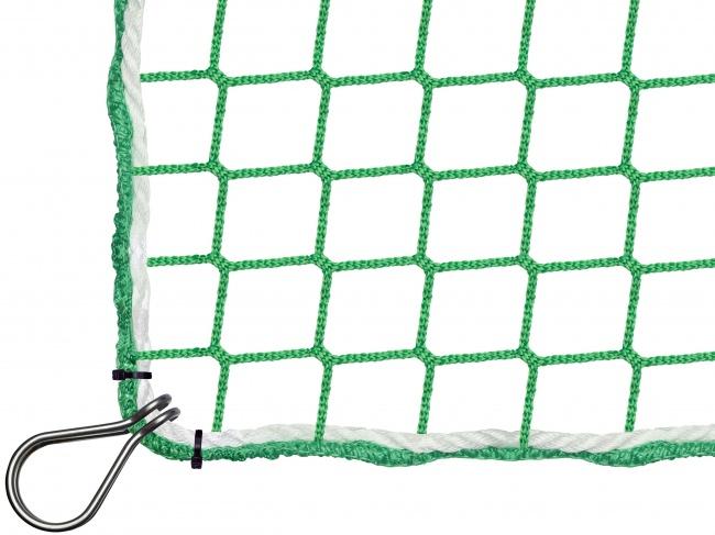 Auffangnetz per m² (nach Maß) mit Kauschenbügel | Schutznetze24
