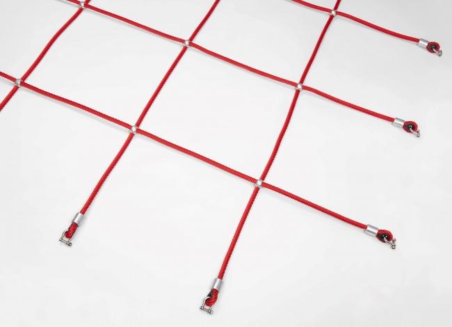 Custom-Made Climbing Net with Aluminium Knots | Safetynet365
