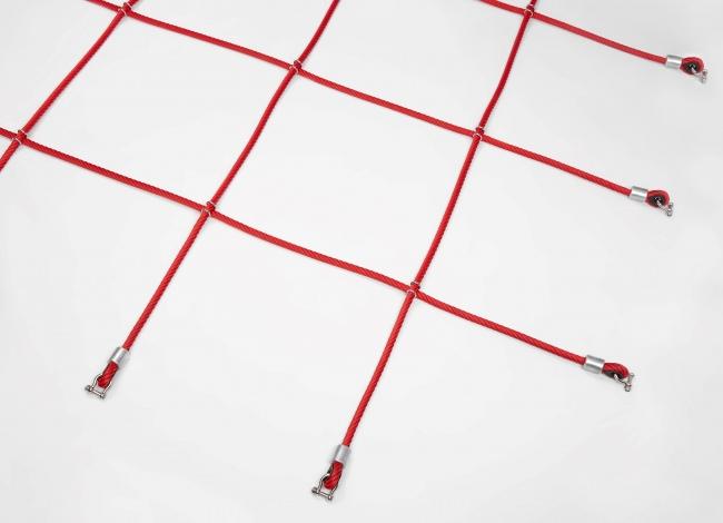 Horizontales Herkulesnetz mit großer Maschenweite   Schutznetze24