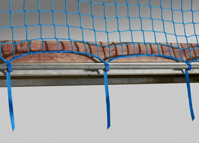 Construction Site Safety Net 2.00 x 5.00 m with Quick-Release Straps | Safetynet365