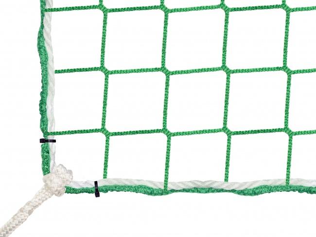 Bauschutznetz 6,00 x 10,00 m mit Aufhängeseilen | Schutznetze24