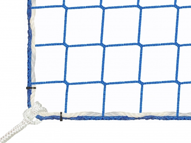 Construction Site Safety Net by the m² (Custom-Made) with Suspension Ropes | Safetynet365