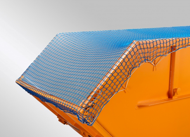 Container Netting Cover (DEKRA) 3.5 x 5m, Green/Blue | Safetynet365