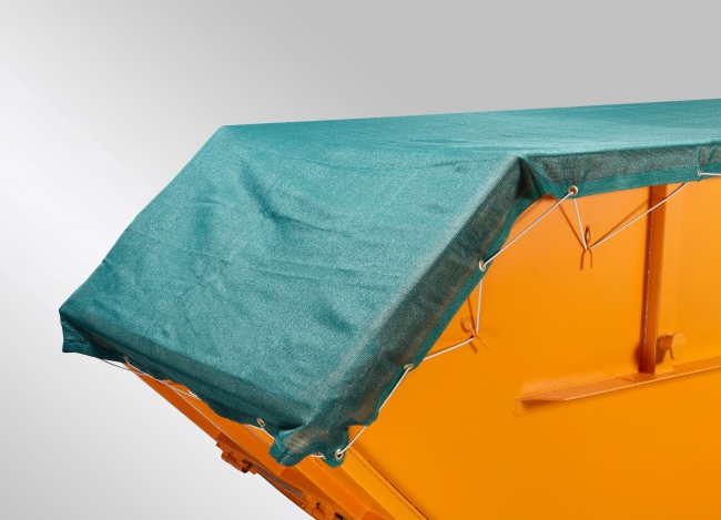 Container Covering Fabric 3.00 x 7.00 m, Dark Green | Safetynet365