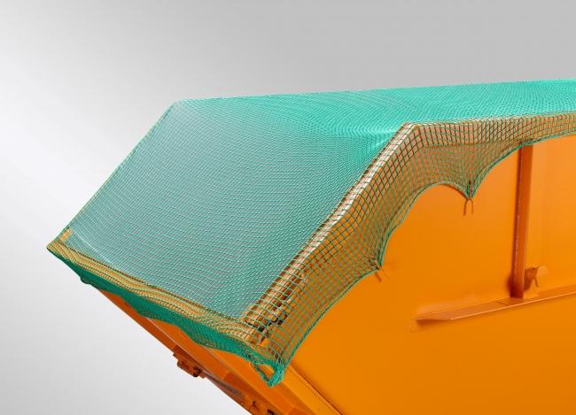 Container-Netz 3,5x5m, grün | Schutznetze24