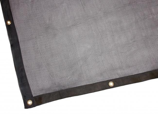 Skip Tarpaulin 3.50 x 6.00 m, Black | Safetynet365