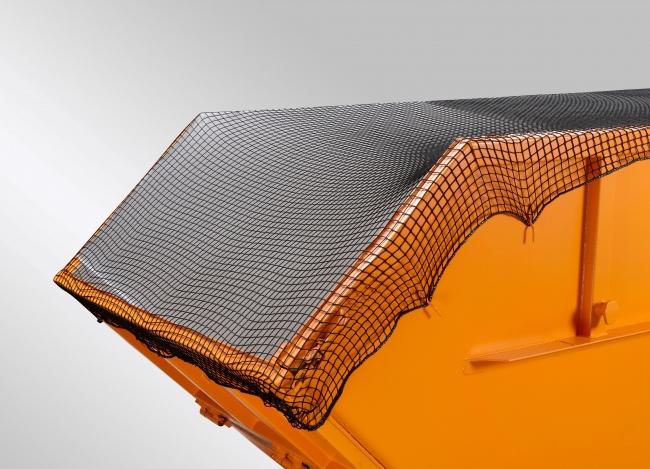 Skip Covering Net 3.5 x 7m, Black | Safetynet365