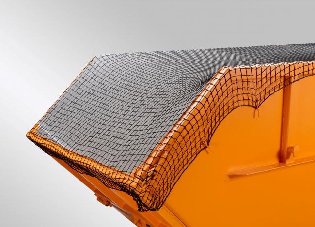 Containernetz 3,50 x 5,00 m, schwarz   Schutznetze24