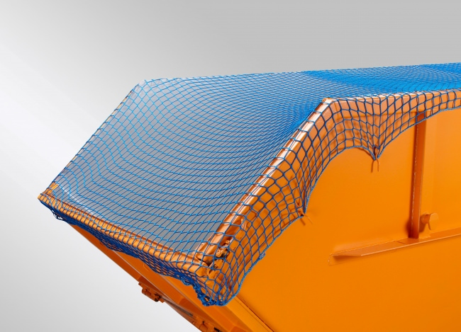 Container Netting Cover 3.50 x 7.00 m (DEKRA), Blue/Green | Safetynet365
