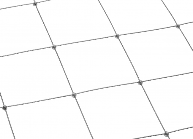 Drahtseilnetz per m² mit 150 mm Maschenweite