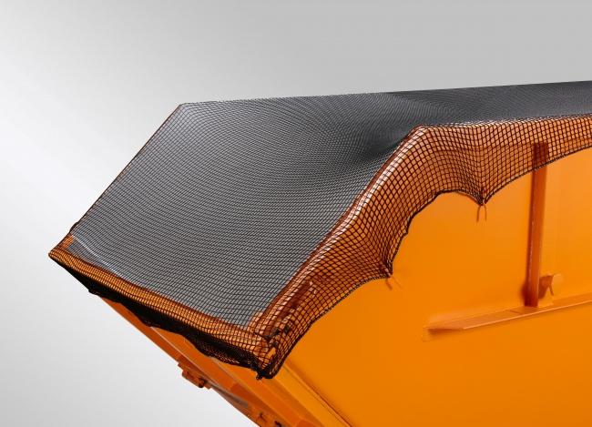 Engmaschiges Container-Abdecknetz 3,50 x 5,00 m | Schutznetze24