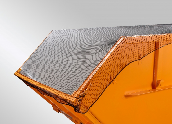 Engmaschiges Container-Abdecknetz 3,50 x 7,00 m | Schutznetze24