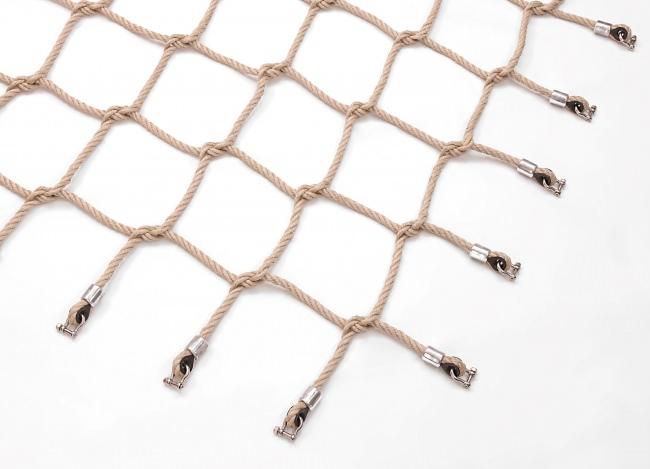 Geflochtenes Kletternetz nach Maß | Schutznetze24