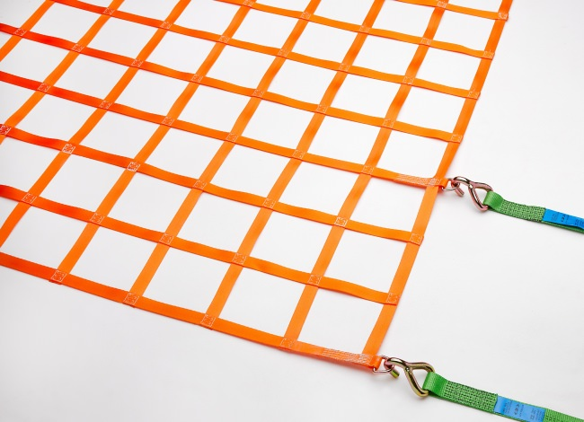 Webbing Net (GS-tested) for Flatbeds 1525 x 3025 mm - Complete Set | Safetynet365