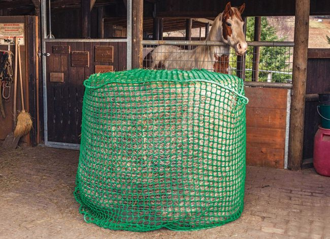 Close-Mesh Hay Net for Round Bales | Safetynet365