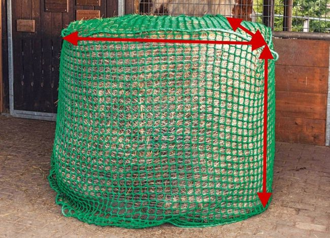 Hay Net for Round Bales (45 mm Mesh)   Safetynet365