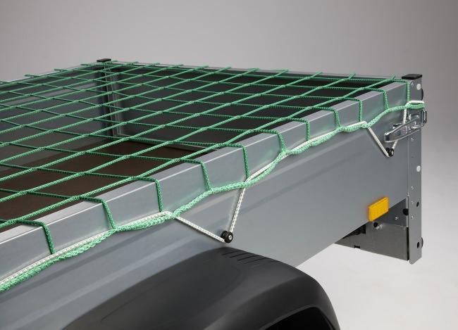 Ladungssicherungsnetz 1,50 x 2,70 m - grün | Schutznetze24