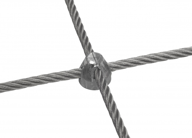 Stainless Steel Wire Rope Net (6.0 mm/50/150 mm)