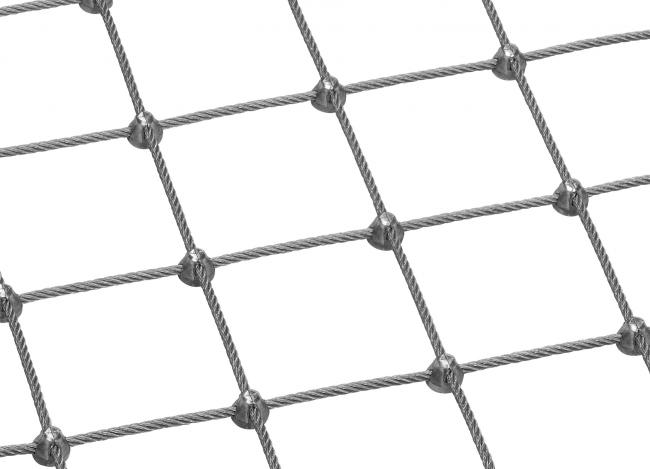 Maßgefertigtes Edelstahl-Dralonetz mit 6,0 mm Materialstärke