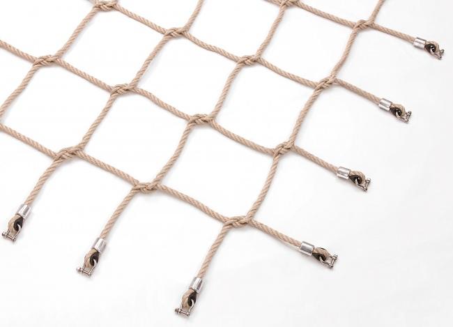 Maßgefertigtes PP-Kletternetz (nach DIN EN 1176) | Schutznetze24