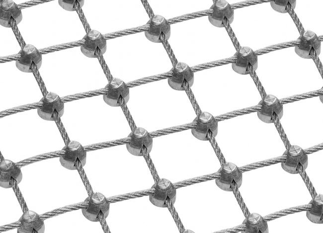 Maßgefertigtes Netz aus Draht mit 25 mm Maschenweite
