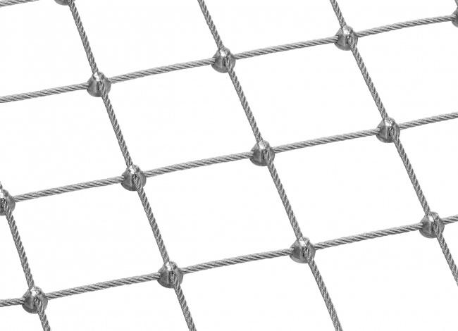 Maßgefertigtes Netz aus Stahldraht mit 5,0 mm Materialstärke