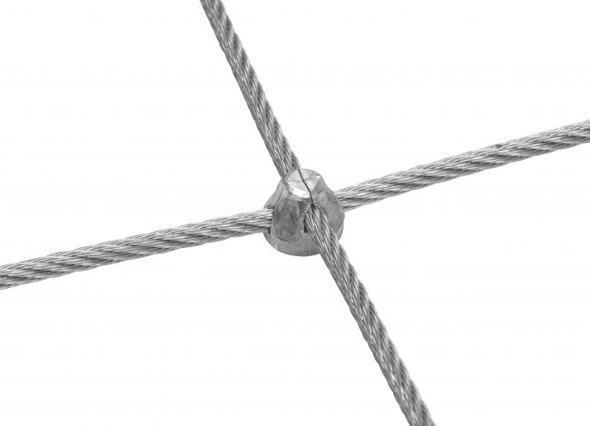 Maßgefertigtes Stahldrahtseilnetz mit 5,0 mm Materialstärke