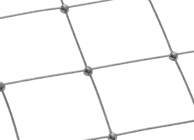 Tailor-made Steel Wire Rope Net (5.0 mm/300 mm)