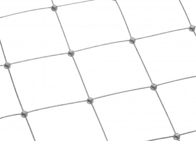Netz aus Draht nach Maß mit 75 mm Maschenweite