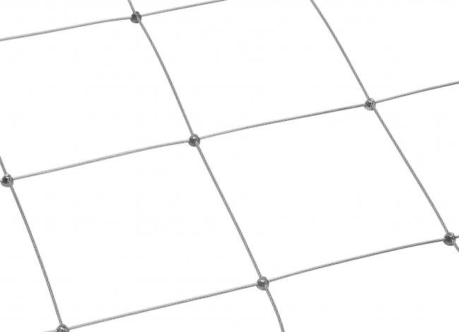 Netz aus Draht per m² mit 200 mm Maschenweite