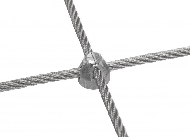 Netz aus Draht per m² mit 6,0 mm Materialstärke