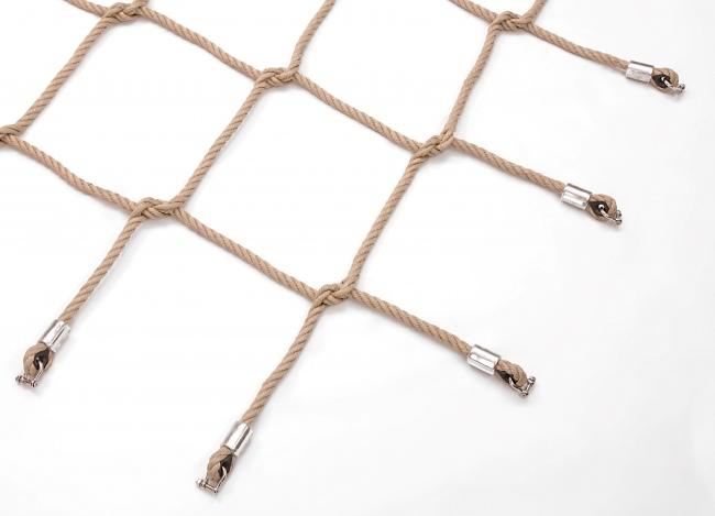Woven Net for Climbing, Scramble Net    Safetynet365