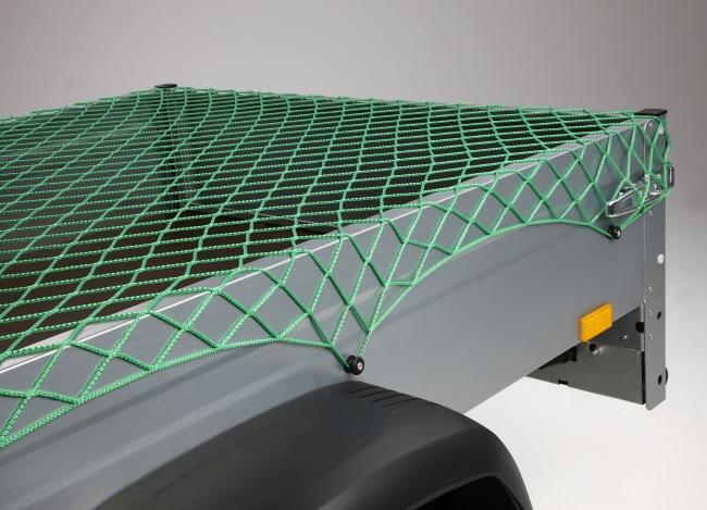 Netz zur Ladungssicherung 3,00 x 3,50 m - grün | Schutznetze24