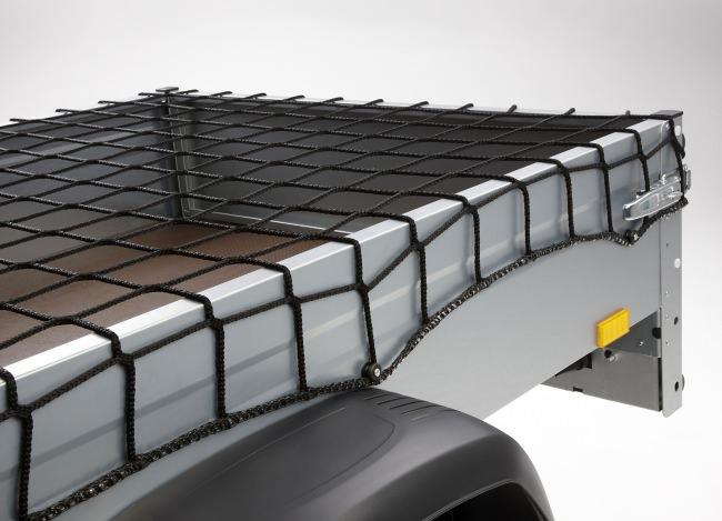 Flatbed Net 2.50 x 2.70 m, Black | Safetynet365