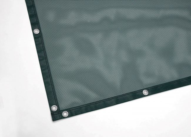 PVC-Coated Webbing, Custom-Made, Green | Safetynet365