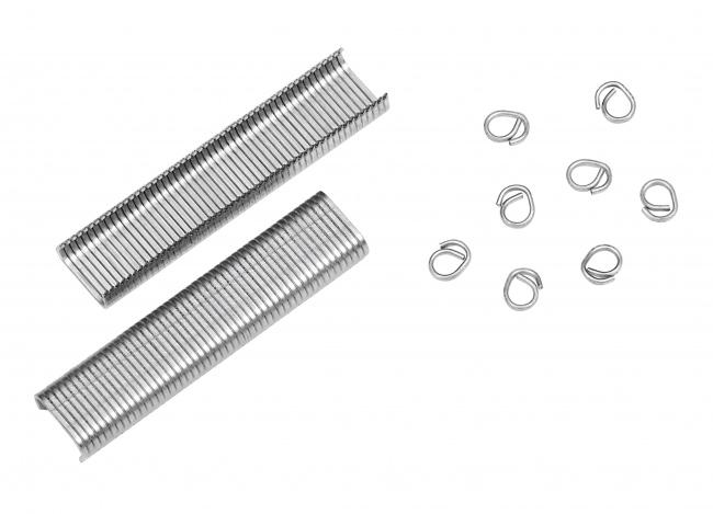 Hog Ring Staples Ø 8 mm (1,000 pcs.) | Safetynet365