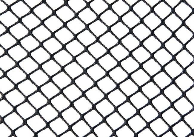 Schutznetz per m² (nach Maß) 1,5/10 mm, schwarz | Schutznetze24