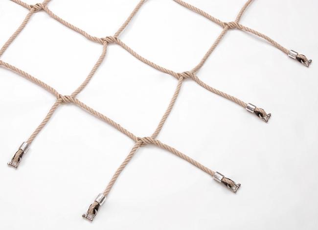 Maßgefertigtes Kletternetz aus Polypropylen | Schutznetze24