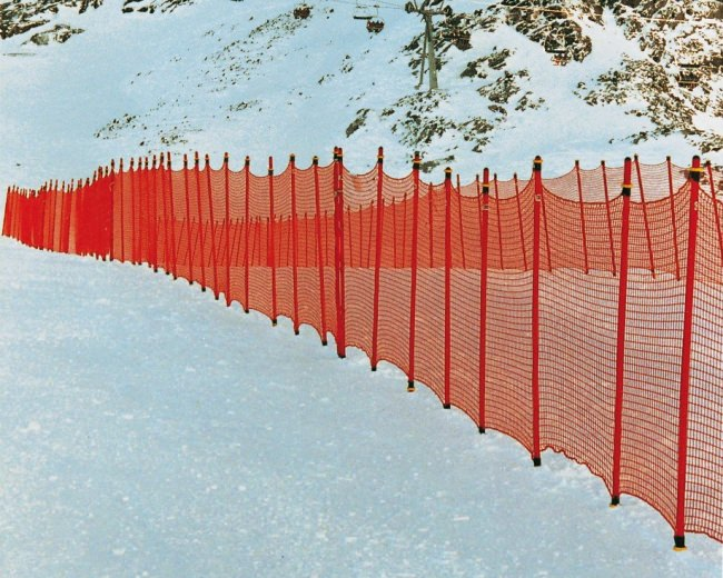 Ski Piste Barrier Net 1.80 x 25.00 m | Safetynet365